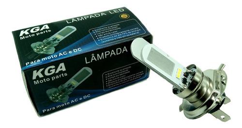 lâmpada kga led h4 12v honda fazer / lander / tenere 250