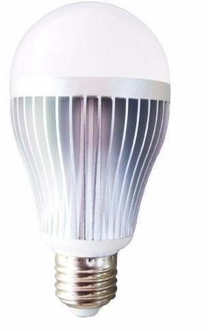 lâmpada led 12w bulbo e27 super econômica branco quente !