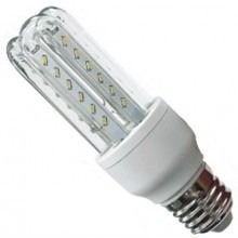 lâmpada led 3u e-27 5w bivolt 90% mais econômica compacta