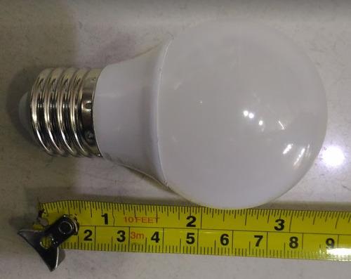 lâmpada led bolinha 5w branco frio bivolt