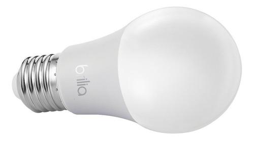 lâmpada led bulbo 15w 3000k bivolt e27 amarela brilia 436882