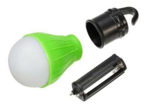 lâmpada led camping pesca a pilha gancho baixo consumo