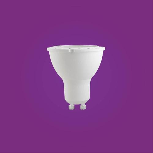 lâmpada led dicróica 4w gu10 6500k branca casa comercio
