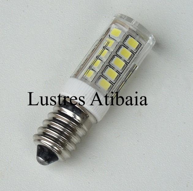Lampada Led E14 Para Lustre.Lampada Led E14 Para Lustre De Cristal 110v 3 5w Branco Frio