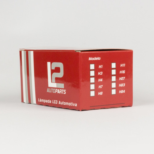 lâmpada led h27 branca - par (2 unidades)