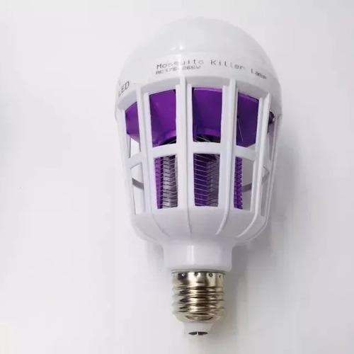 lâmpada led mata insetos, mosquito e pernilongo.