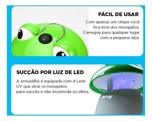 lâmpada led mata mosquitos(sapinho) bivolt nsbao yg-5611