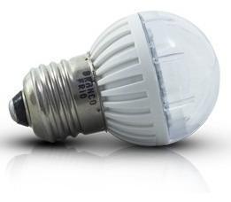 lâmpada led modelo bolinha led 3w bivolt e27,ip64.