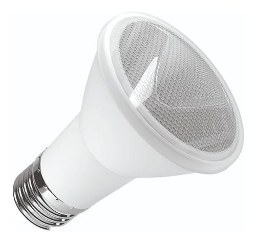 lâmpada led par 20 6w 2700k bivolt ip65 uso int/ext lm501