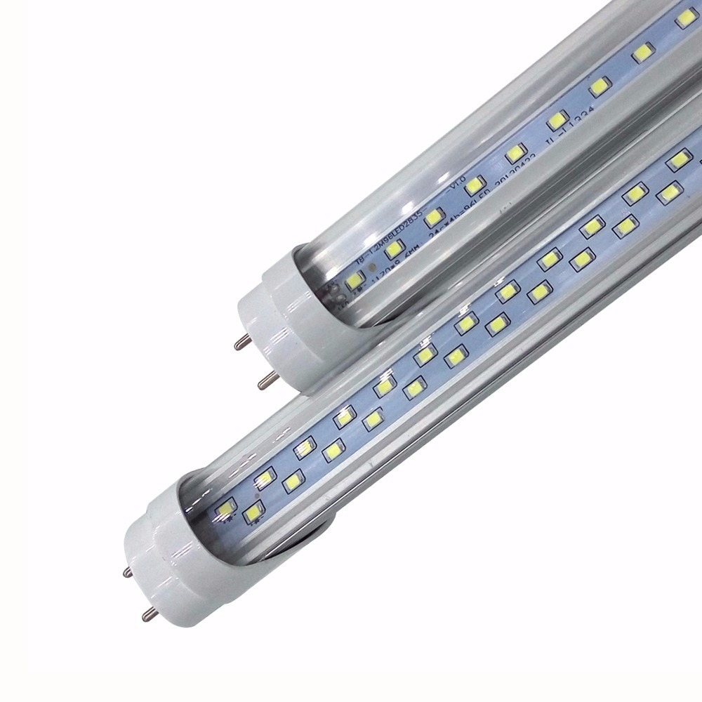 lâmpada led tubular t8 90cm branco frio cristal 13w 6000k - r$ 32,70
