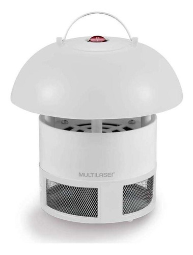 lâmpada led uv mata insetos elétrico branco multilaser