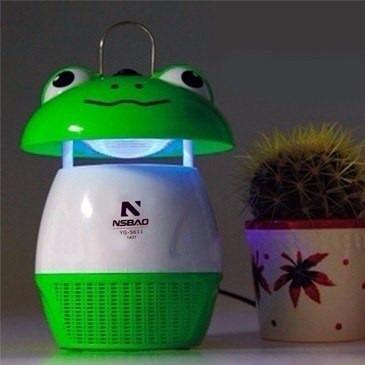 lâmpada luminaria atrai e mata-mosquito dengue sapinho