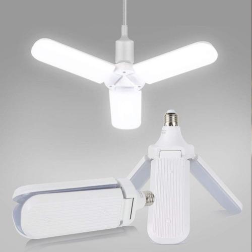 lâmpada luminária led 45w pétalas dobrável ultra brilhante
