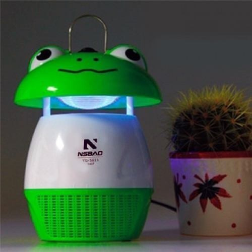 lâmpada luminaria mata-mosquito sapinho