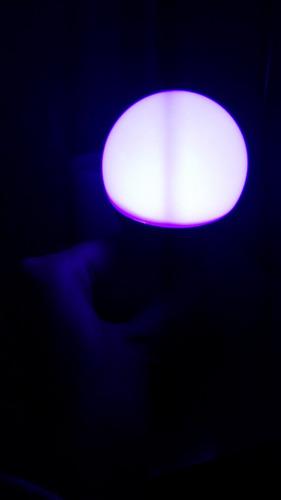 lâmpada luz negra led neon luz negra 9w bivolt