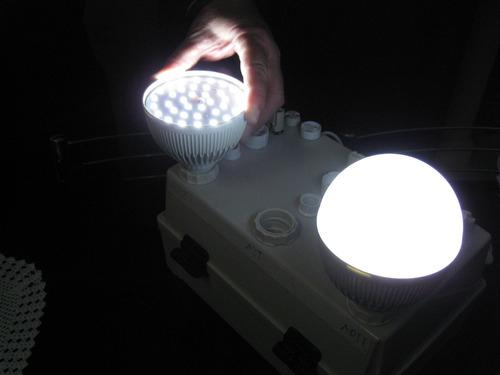 lâmpada mega led bulbo 18w reais 110/220v 36 led 5730