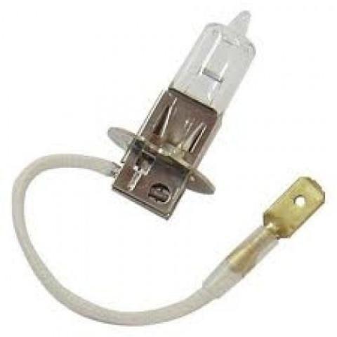 lâmpada para reposição halógena 55w 12v cx com 2 un nautika