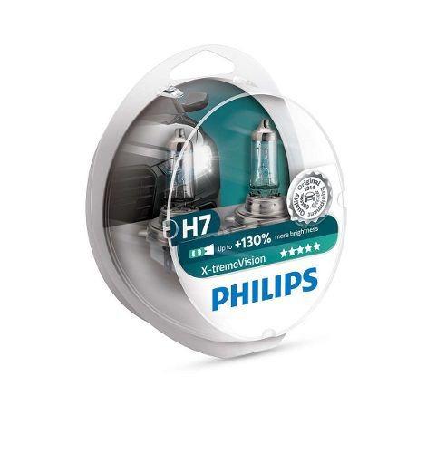 lâmpada philips farol x-treme vision 60/55w h7 bandit s650