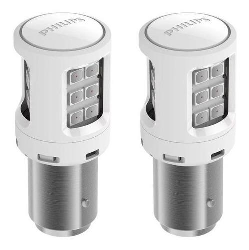 lâmpada philips p21/5 led vision 2 polos red12v frete grátis