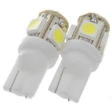 lâmpada pingo 5 led 5050 smd t10 w5w unid frete unico