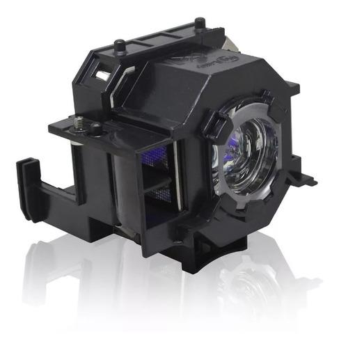 lâmpada projetor epson s5 s5+ s6 s6+ (elplp41) c/case
