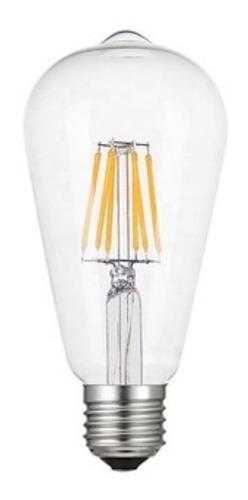 lâmpada retrô filamento st64 led avant 4w bivolt