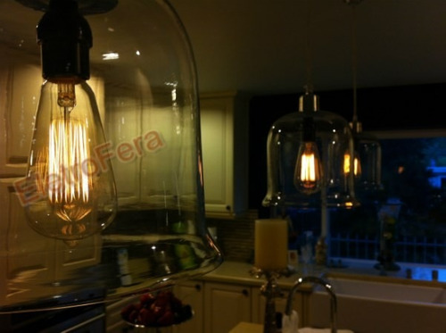 lâmpada retro vintage - thomas edson decorativa st