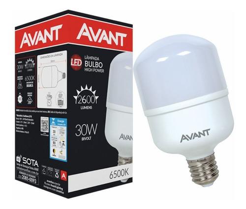 lâmpada super branca 30w 6500k e27 residencial economica
