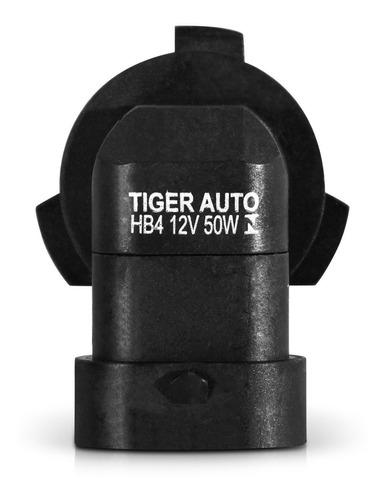 lâmpada super branca 4200k hb4 12v 55w unidade
