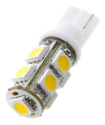 lâmpada super pingo t10 9 leds placa teto farol frete 10,00