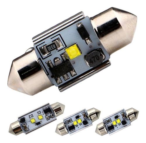 lâmpada torpedo canbus canceller led super branca teto placa