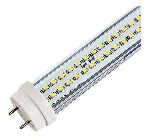 lâmpada tubular de led 9w bivolt p/ substituir fluorescente