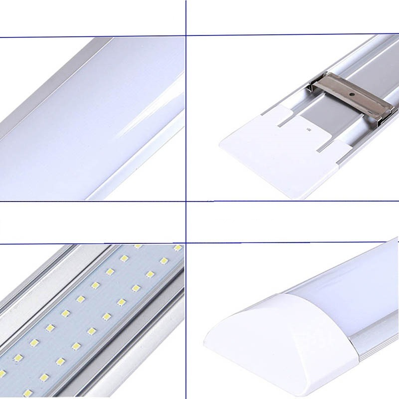 Lampada Tubular Led 20w Quente: Lâmpada Tubular Led Fit Slim 60cm 6000k Completa 20w