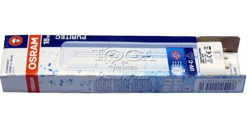 lâmpada uv 18w, p/ reposição filtro atman, sunsun ou outros