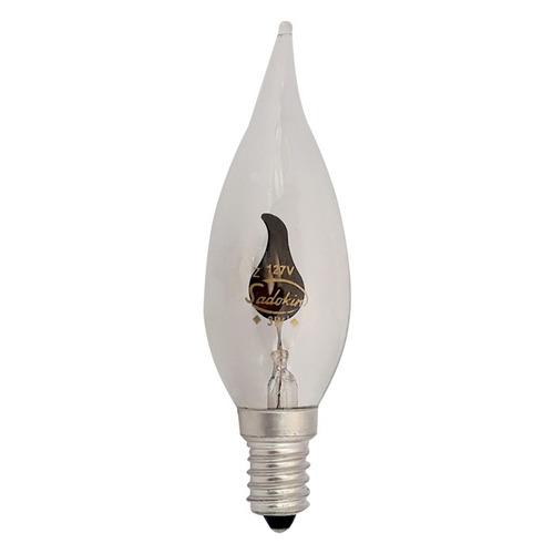 lâmpada vela chama decorativa 3w 127v e14 - neon flicker