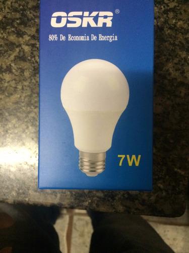 lâmpadas de led - 7w branca economia de até 80%