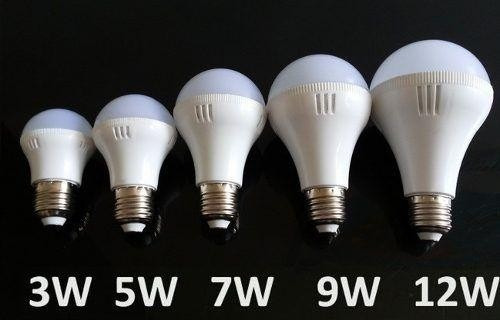 lâmpadas de led bulbo 5w