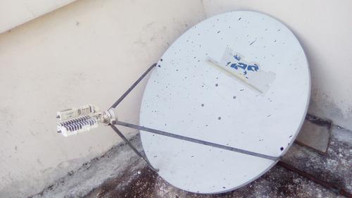 lnb para sistema satelital con antena de 1.20cmts