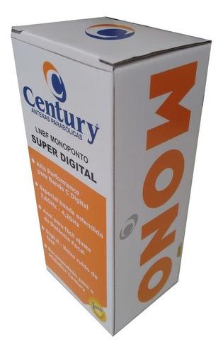 lnbf lnb monoponto century banda c extendida super digital