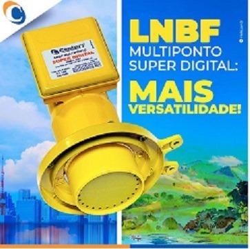 lnbf multiponto century super digital e banda estendida