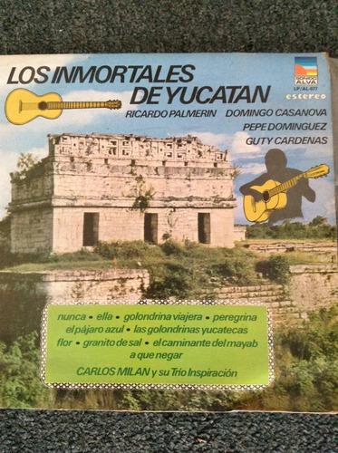 lo los inmortales de yucatan