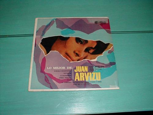 lo mejor de juan arvizu - tango - vinilo - disco - records