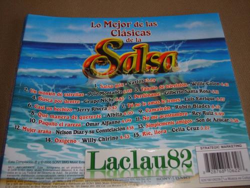 lo mejor de las clasicas de la salsa 2006 sony cd