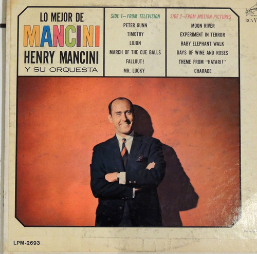 lo mejor de mancini (vinyl) henry mancini