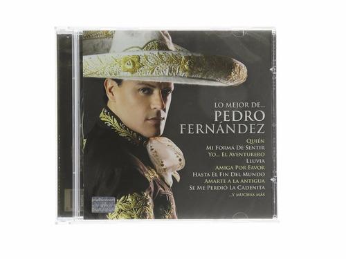 lo mejor de pedro fernandez cd con 20 canciones