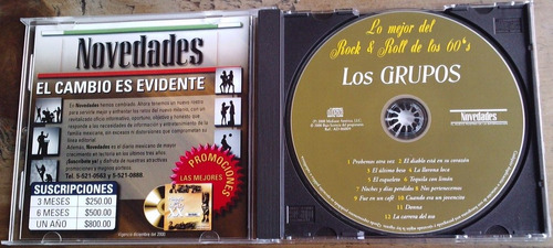 lo mejor del rock & roll cd gliders rogers apson americans