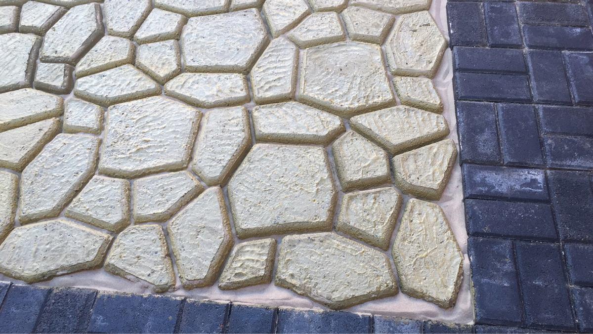 Lo Mejor En Moldes 60x60cm, Piso Piedra Concreto, Banqueta ...