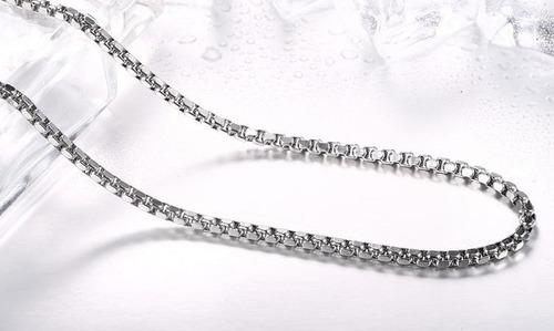 lo nuevo cadena de acero inoxidable 76cm x 5mm