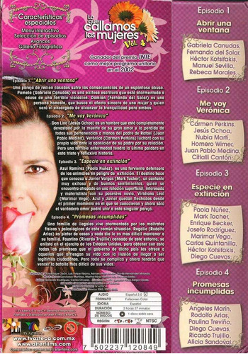 lo que callamos las mujeres volumen 4 cuatro dvd