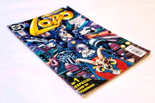lobo nº 01 - raridade!! edição de colecionador!!!